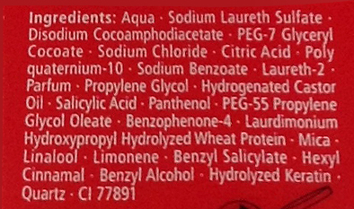 shampoo ingredients